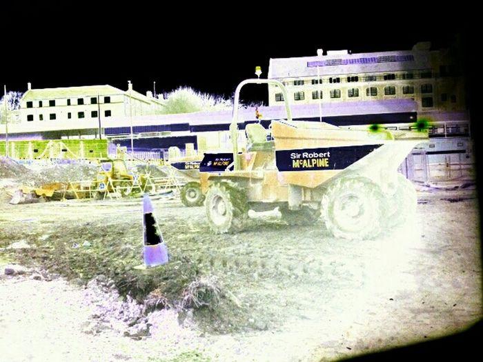 Building Work Dumpa Truck