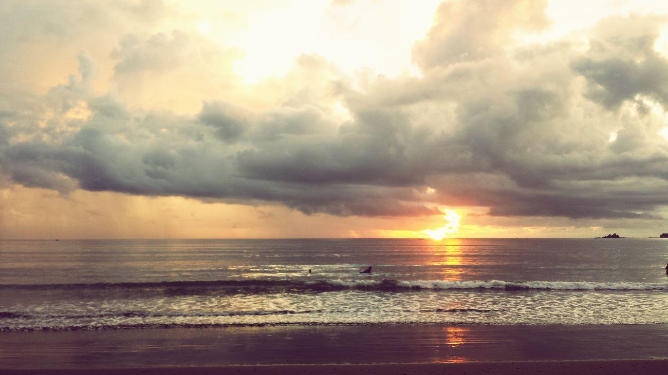 Beautiful Baler sunrise Baler Beach First Eyeem Photo