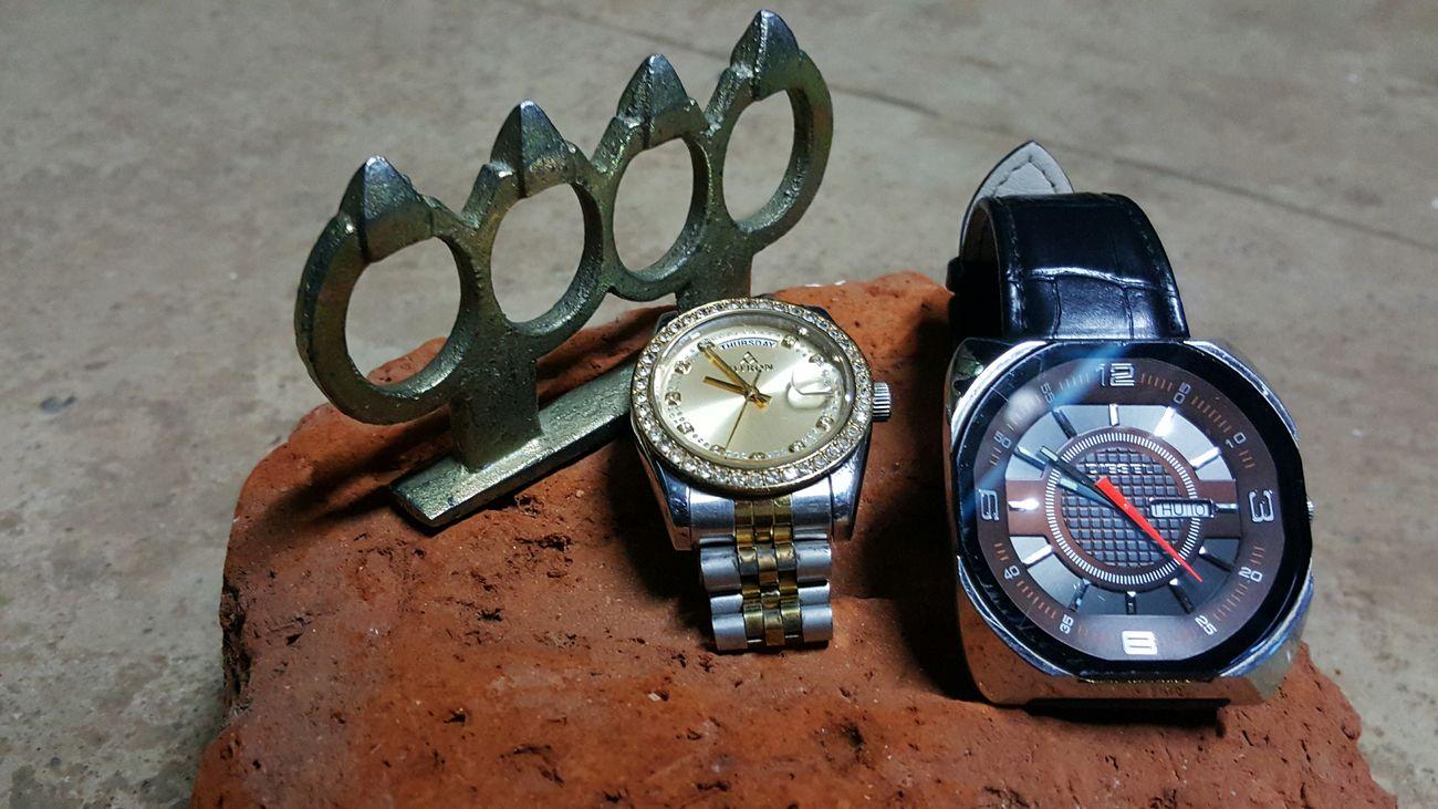 WatchGang Brassknuckles Watchenthusiasts Watches⌚️ Diamondstuds KSA Fitron Diesel Watch .  Menaccesories Randomclick Lovephotography