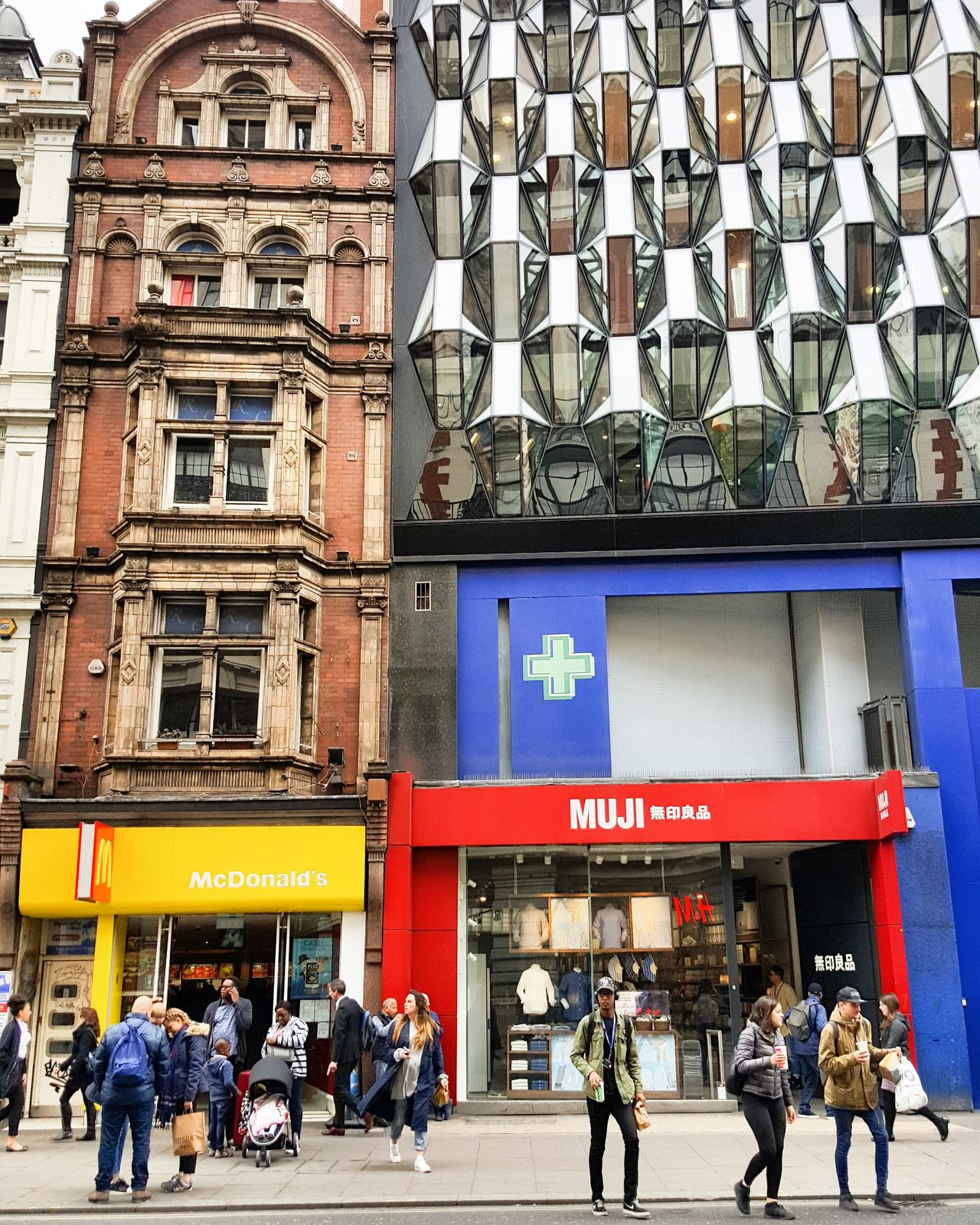 Building Exterior Architecture Men People Built Structure Outdoors Adult City Day Adults Only London McDonald's Mcd Mcdonalds Architecture History Old-fashioned Lifestyles Muji