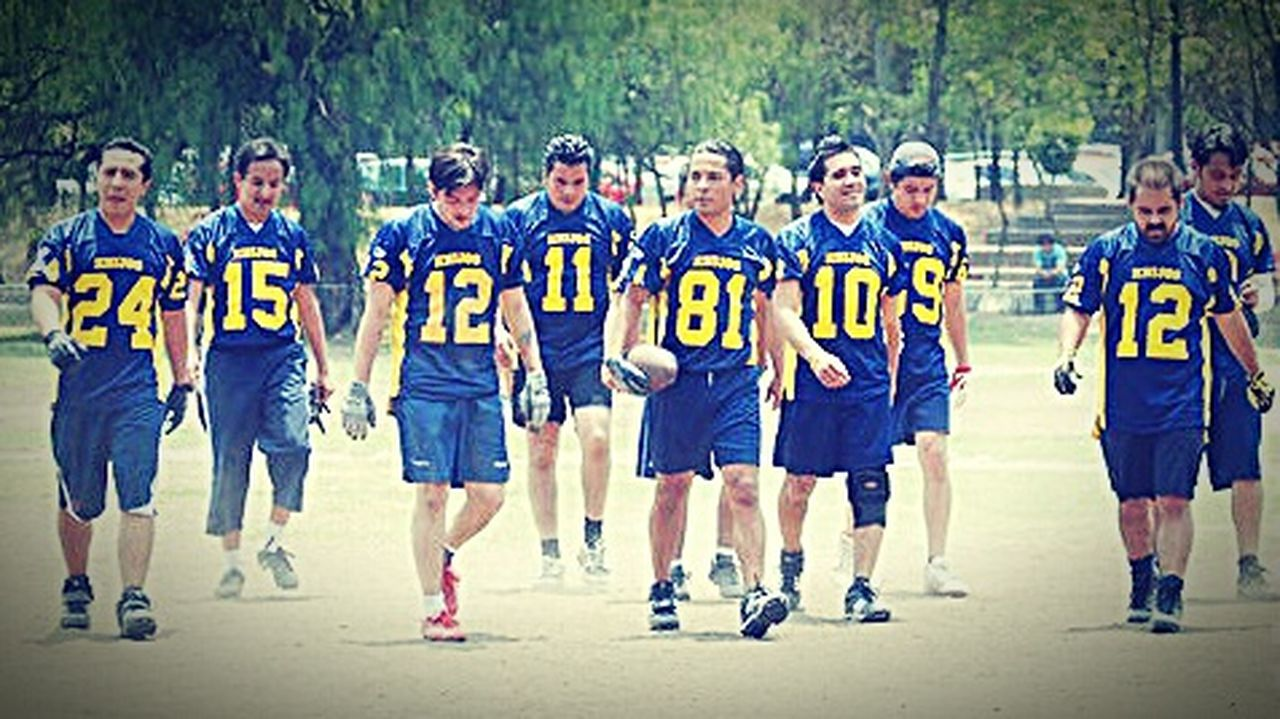Flagfootball My Sport American Football Love EyeEm Teamwork