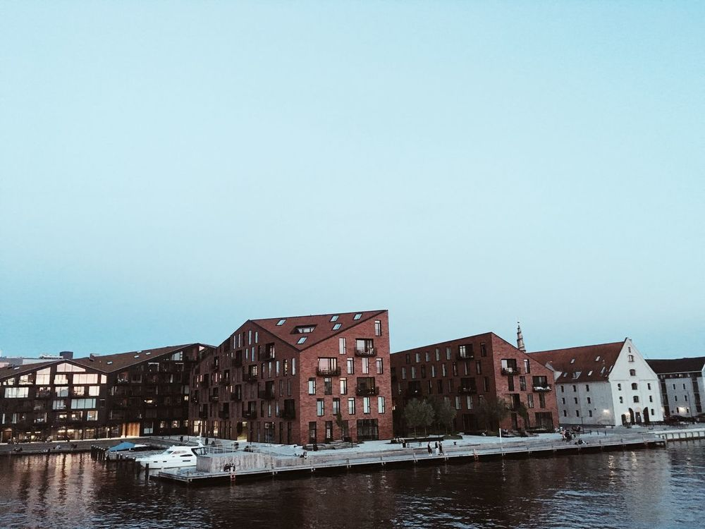 Architecture Built Structure Building Exterior Nautical Vessel Water Clear Sky Waterfront Copy Space Mode Of Transport Transportation No People Day Outdoors Moored Sky Nature Denmark Copenhagen Papirøen Traveling Gothere Archutecture