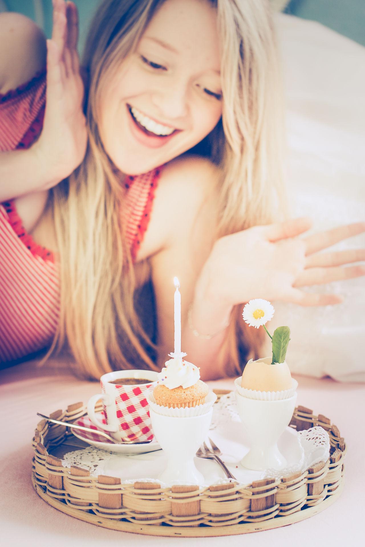 Beautiful stock photos of geburtstagskuchen,  16-17 Years,  Adults Only,  Beautiful Woman,  Birthday