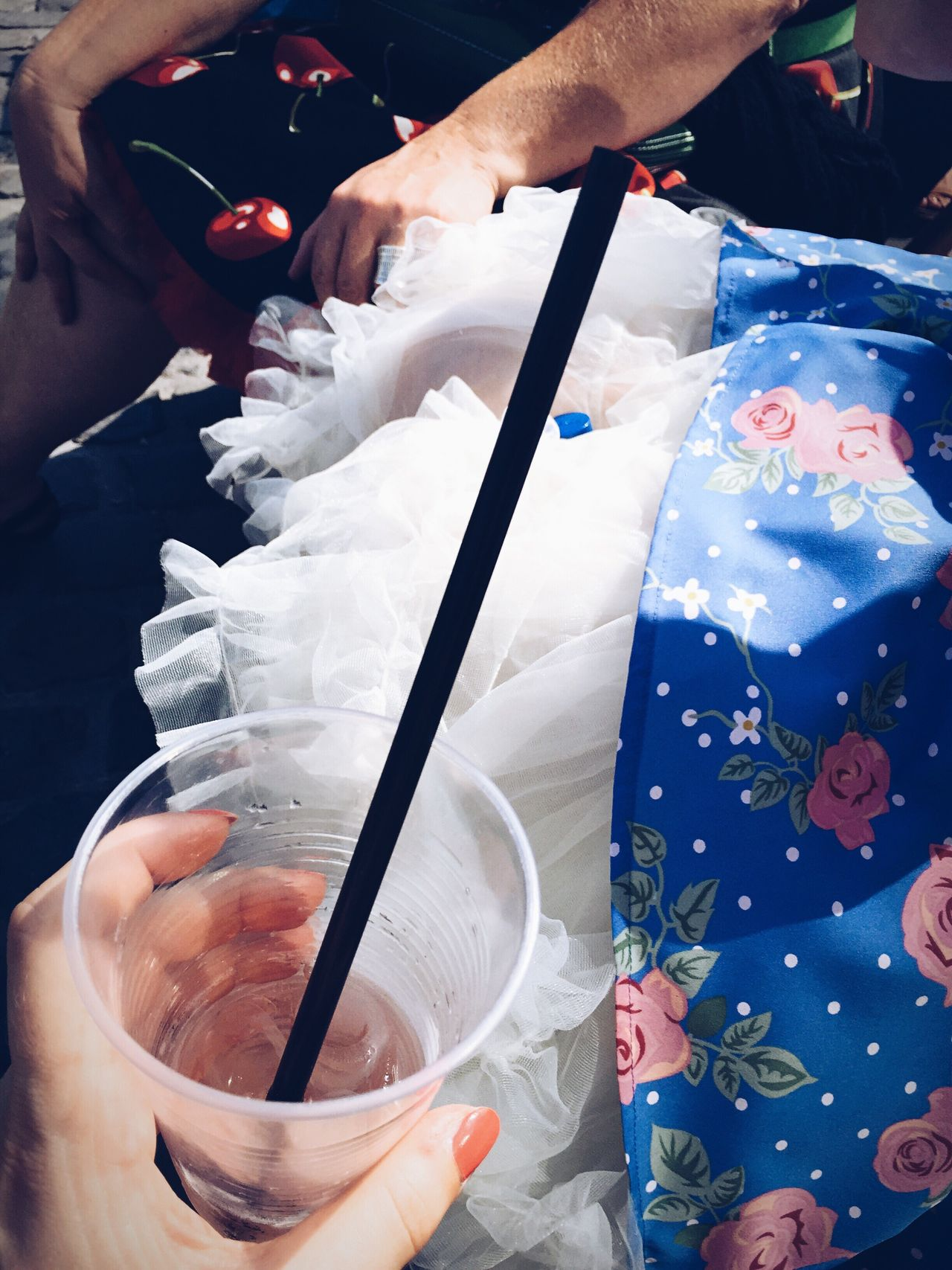 Women Around The World Celebration Party Dress Petticoat Human Hand Human Body Part High Angle View Real People People People Photography Lifestyles Adults Only Drink Multi Colored Enjoying Life