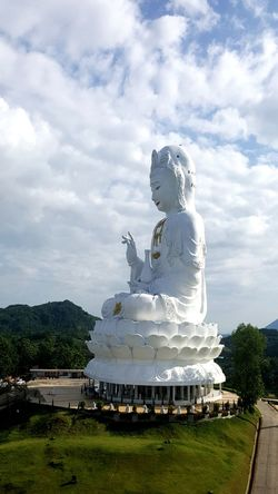 No People Architecture Sky Chiang Mai | Thailand Thailand🇹🇭 Mountain Statue Single Word Architecture Art Buddha Image Buddha Statue Buddha Temple Buddhist Culture Buddhism Temple Buddhist Art Buddhist Temple In Thailand