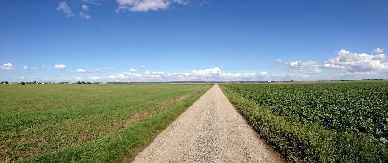 Distant Exploring Green Color Landscape Nature No People Perspective Remote