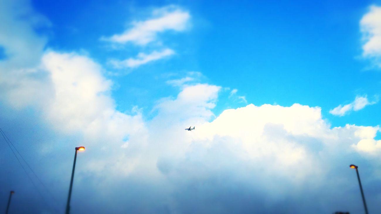 どこまでも。 Airplane Clouds Sky IPhoneography Iosphotography