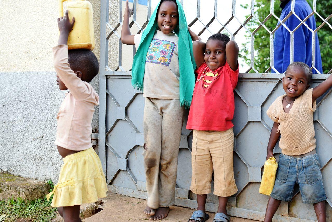 Child Girls Childhood Outdoors People Boys Full Length Standing Children Only Day Friendship Females Portrait Streetphotography Kyamuhunga Uganda