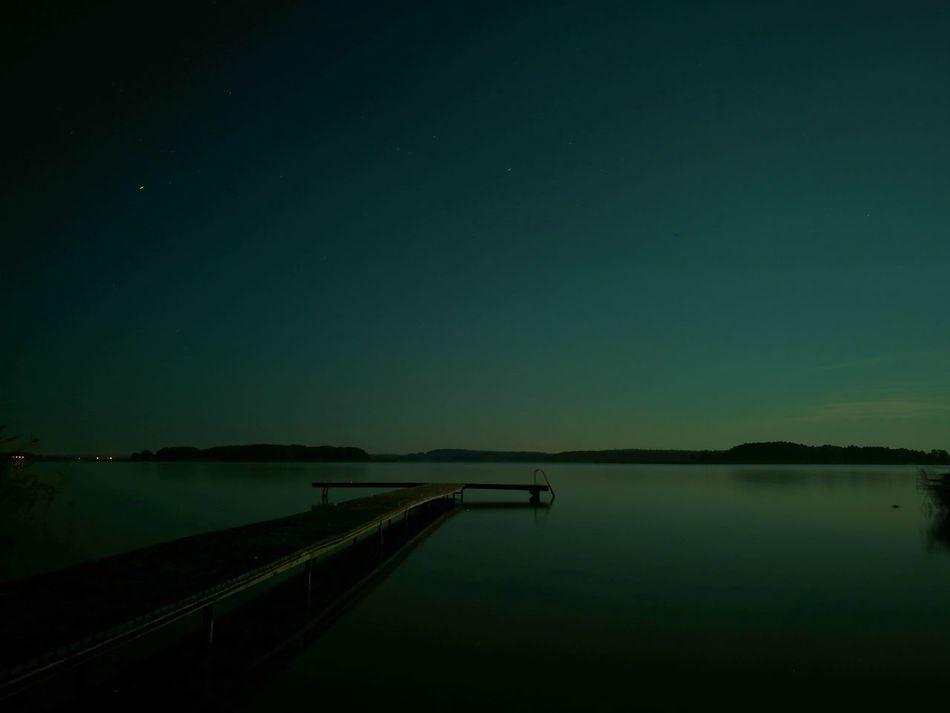 Dark Water Lake Home Beauty In Nature Sky Outdoors Rest Night Huawei P9 Leica