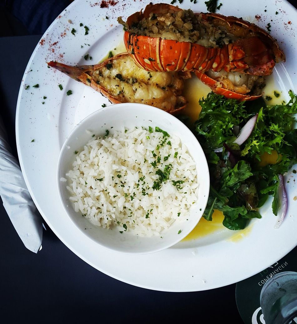 Beautiful stock photos of lobster, Bowl, Close-Up, Directly Above, Food