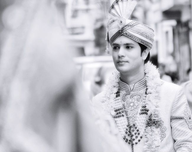 Showcase: December Indian Wedding Wedding Photography Scenes Blackandwhite India Bangalore Groom Monochrome