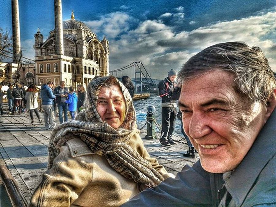 HDR Ortaköy Pazar Gezmesi Aziz Istanbul