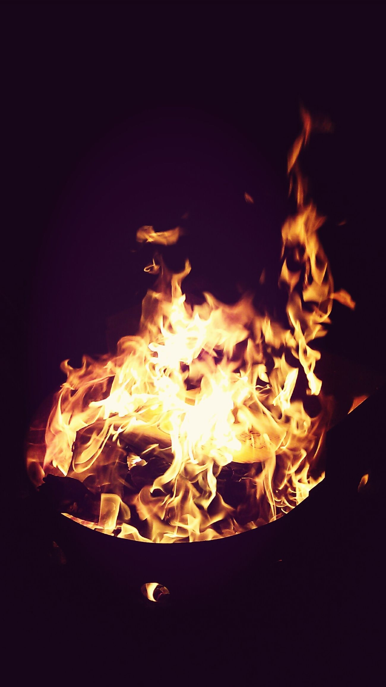 How can something be so mesmerizing and destructive at the same time? The Calmness Within Fire BURNBABYBURN