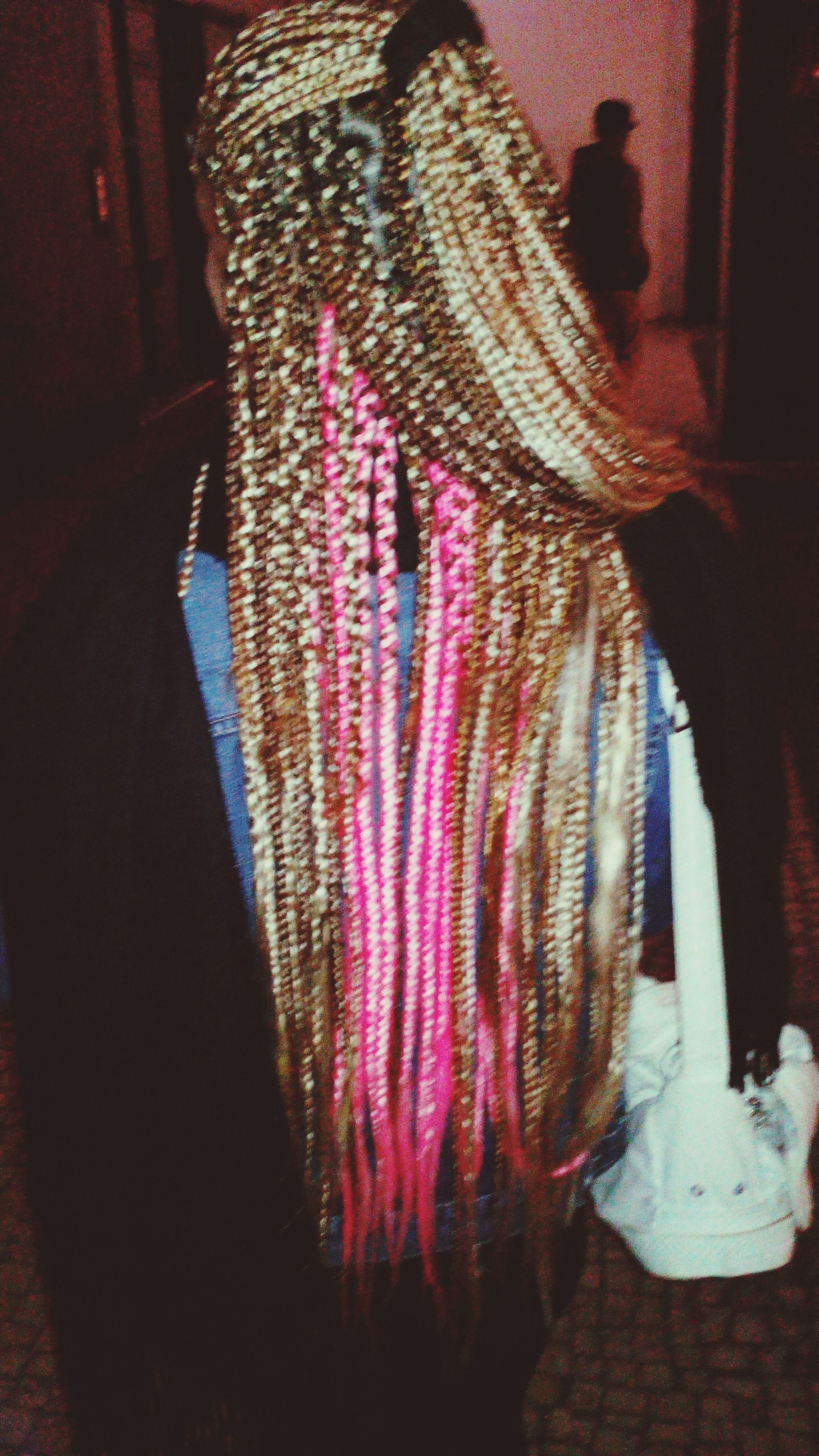 Trança Pink Blond Hair Vaca
