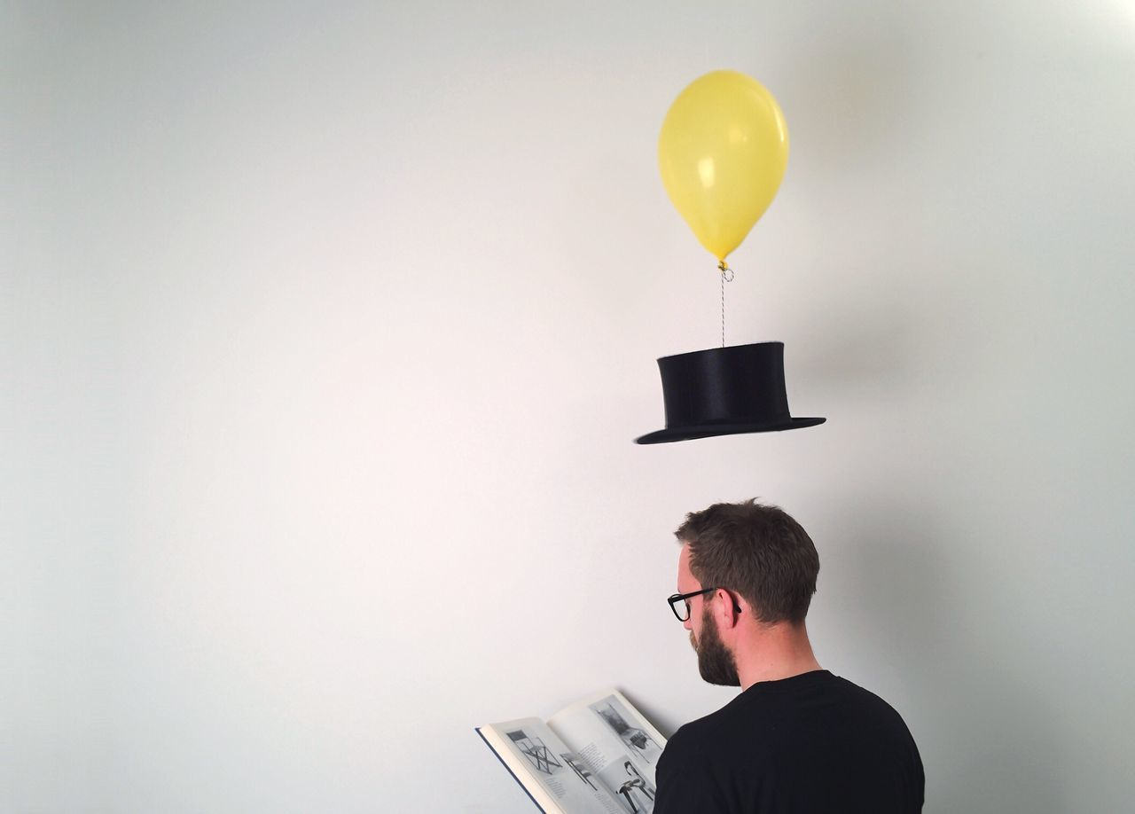 Beautiful stock photos of books, Balloon, Beard, Black Color, Book