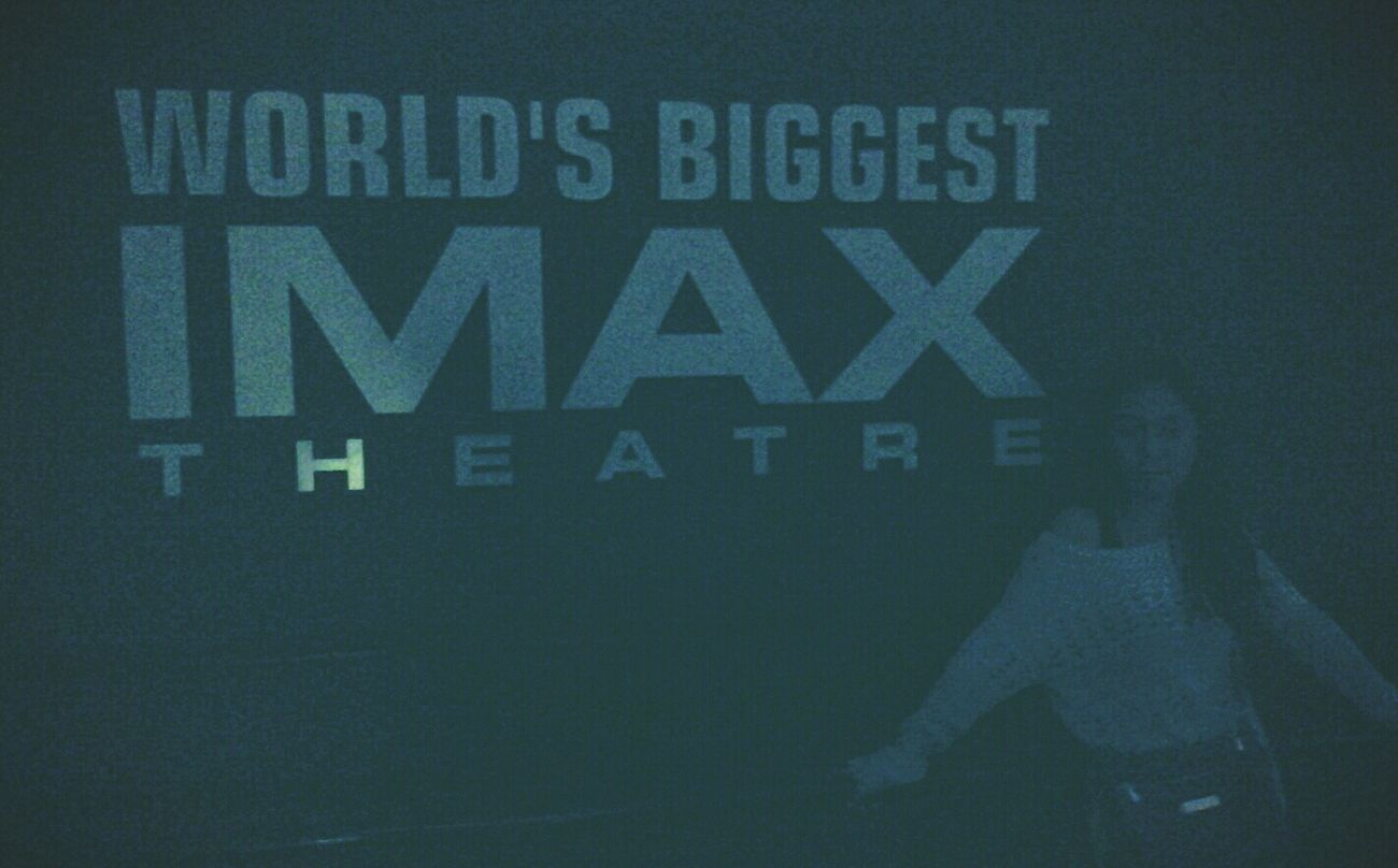 world's biggest cinema IMAX 3D