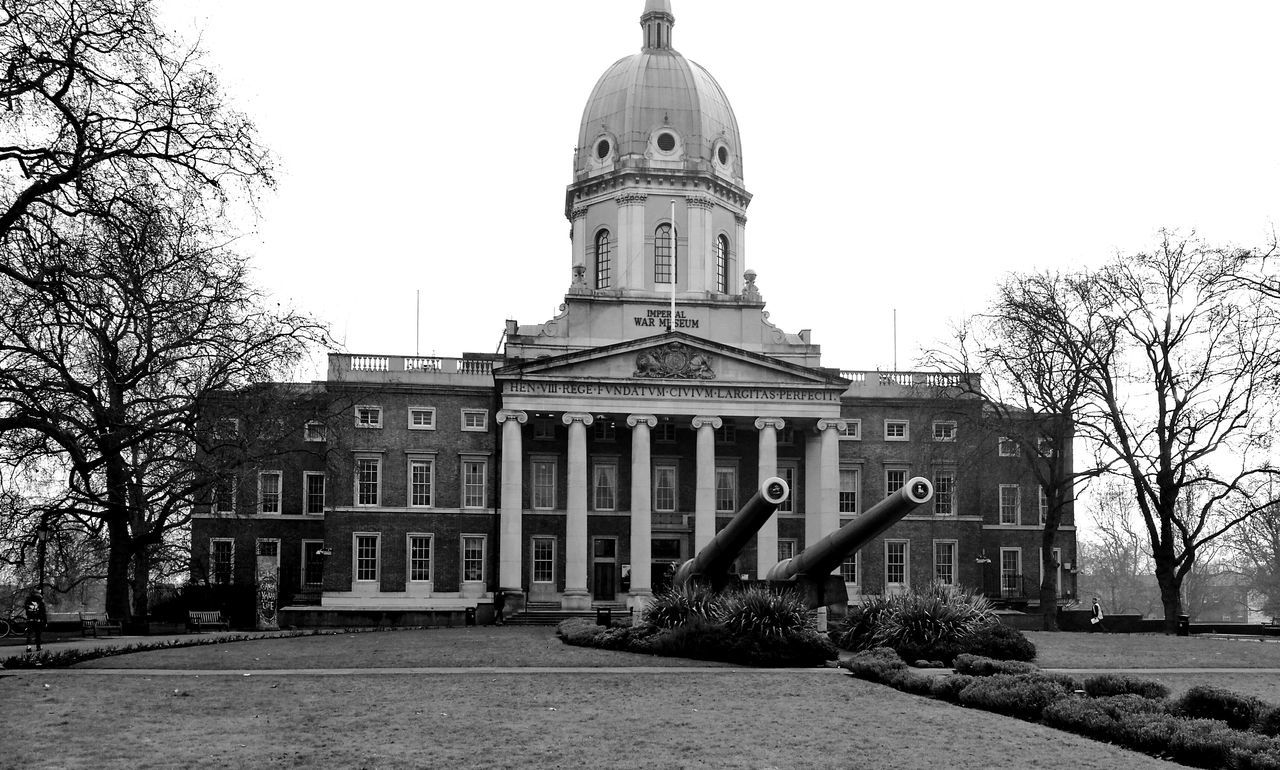 Welcome To Black War Museum Imperial War Museum London Architecture Building Exterior City Government Built Structure Travel Destinations History Authority Façade Sky No People Dome Outdoors Tree Day Welcome To Black