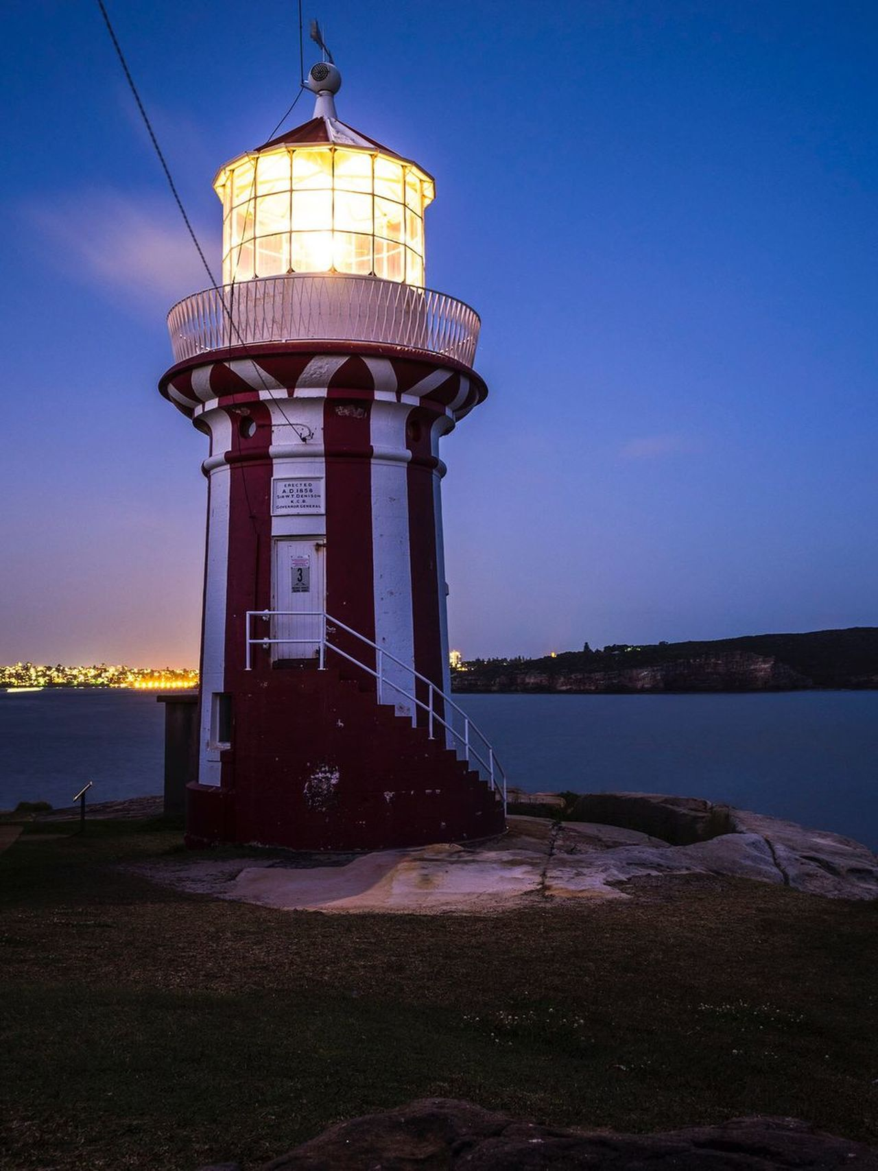 Lighthouse Building Exterior Sea Water Nature Lighthouse Direction Guidance Protection Built Structure Scenics Beauty In Nature No People Sky Outdoors
