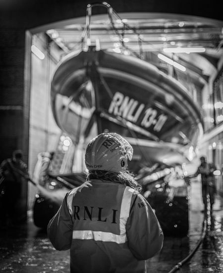 RNLI Lifeboat Lifeboat RNLI Lifeboat Station... Telling Stories Differently Stives St Ives St IVES, CORNWALL St Ives Bay Cornwall Cornwall Uk Boat Blackandwhite Pride Proud