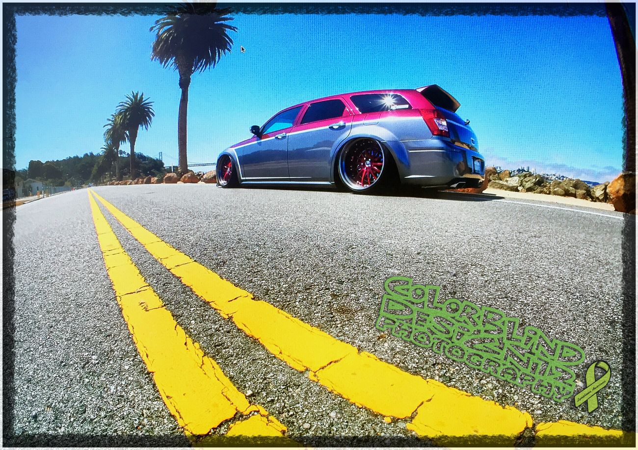 Outdoor Photography Carphotoshoot Sanfrancisco Dodge Magnum Colorblinddesign12
