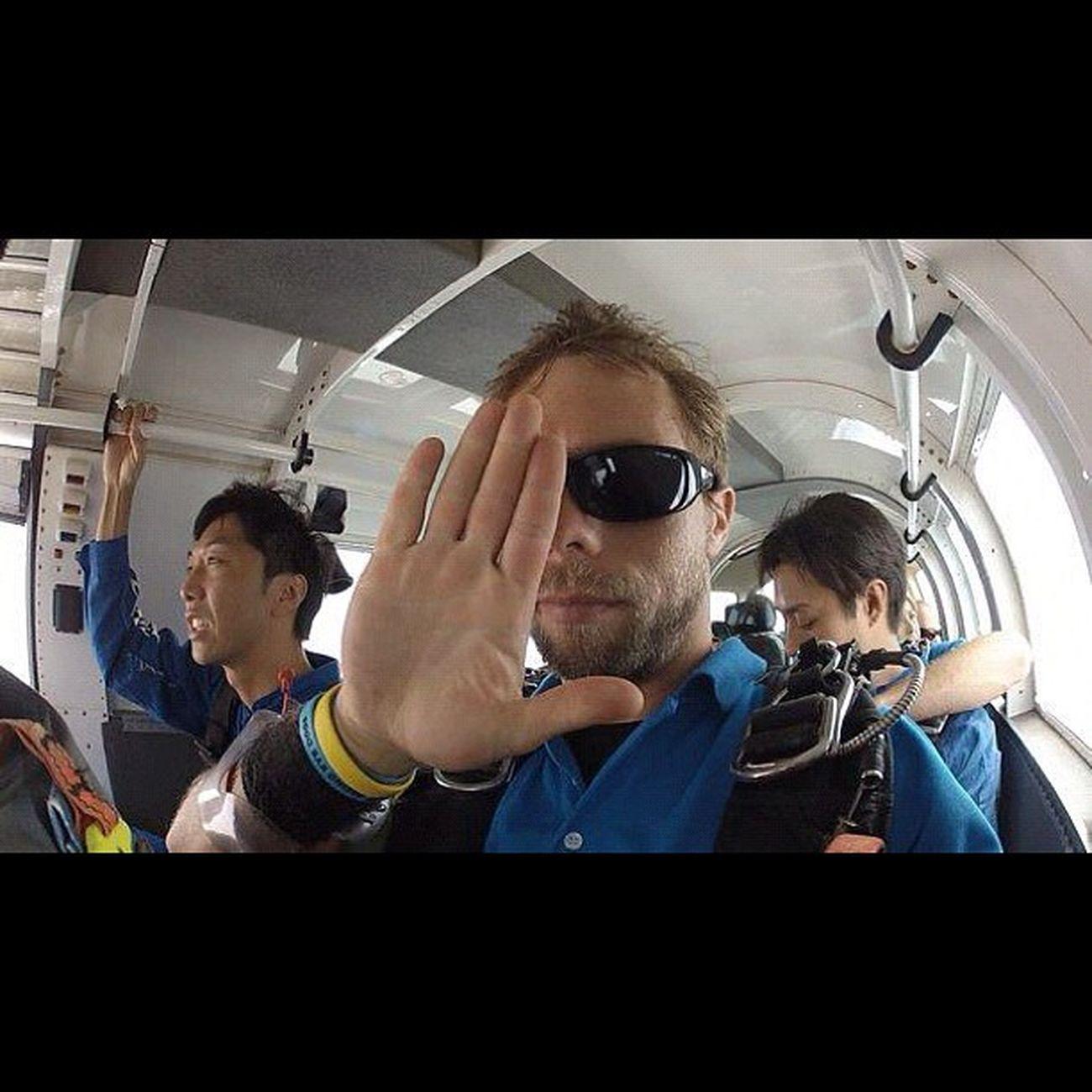 俺の相方はブランドン!イケメンだった。 Sky Guam Gopro Skydive Freefall Hafaadai グアム スカイダイビング Skydving ソラトビ