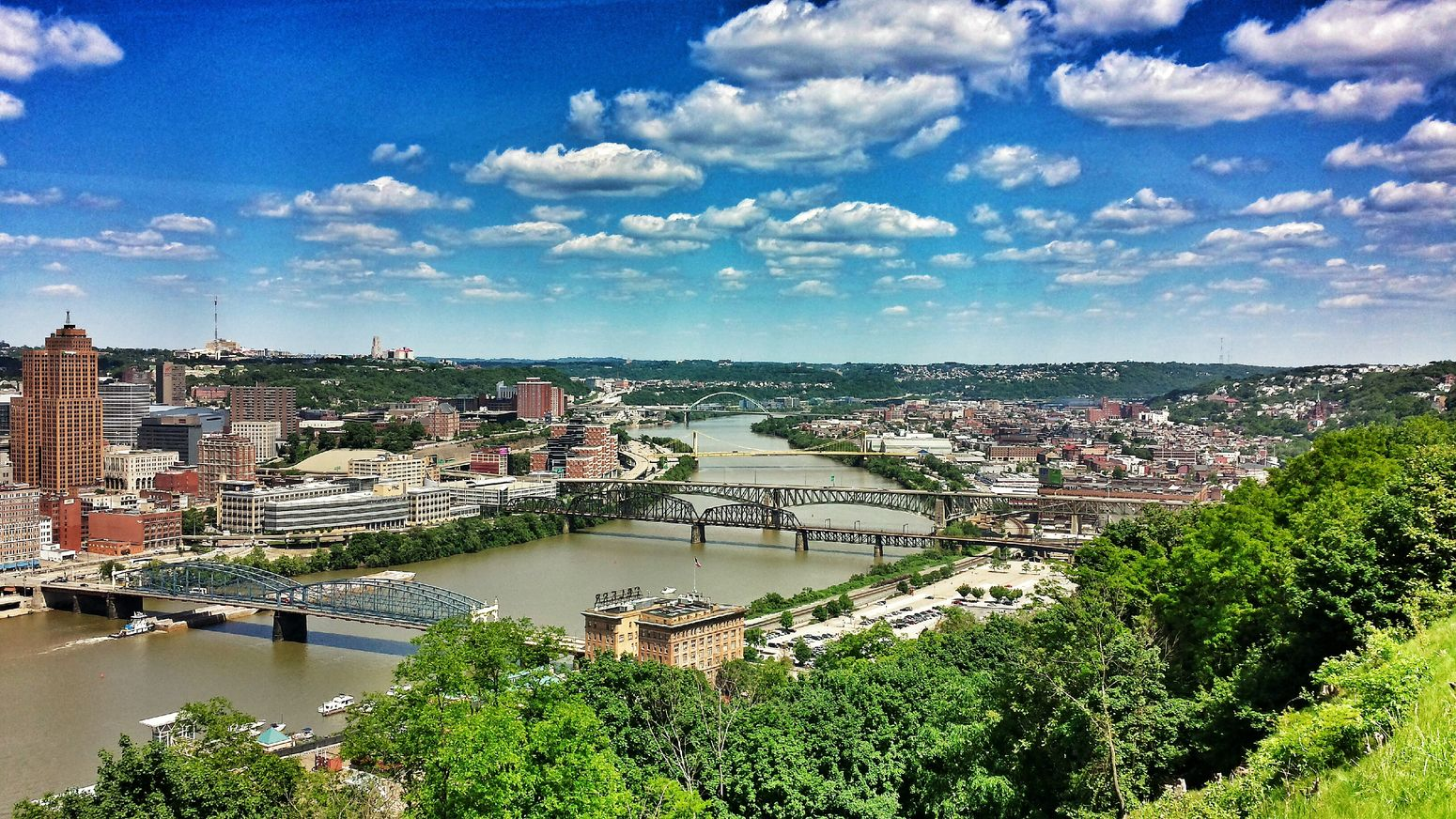 Another view from the Mount Washington Overlook. Urban Landscape Landscape Sky Collection Panoramic