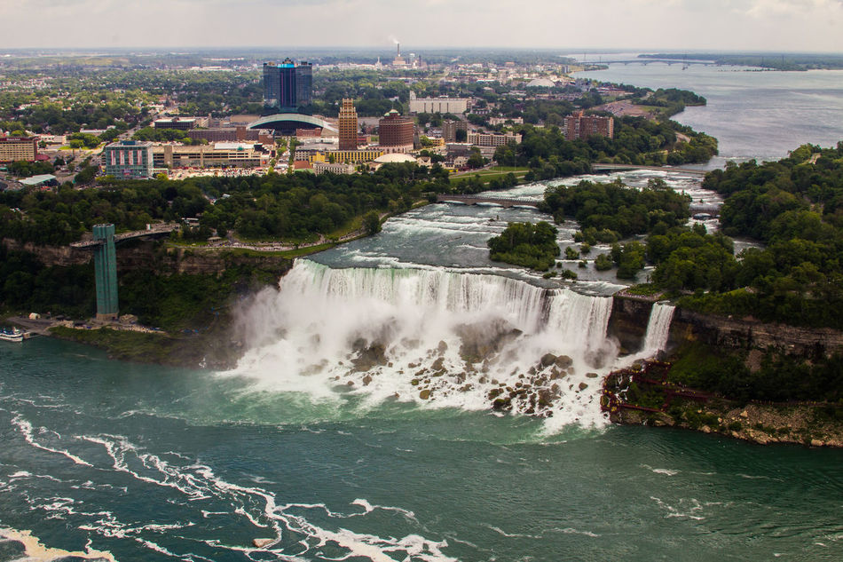 Beautiful stock photos of niagara falls, Beauty In Nature, City, Day, Famous Place