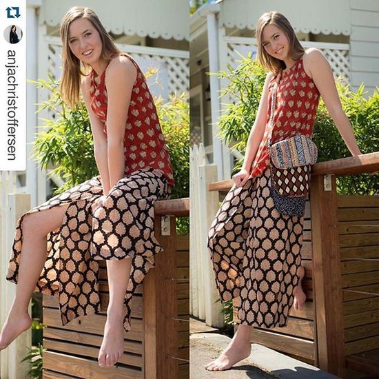 Repost @anjachristoffersen with @repostapp. ・・・ Happy, happy 😆 shooting for @cotton_couture_in_australia photographed by @jkdimagery @mystiquemodels Mystiquemodelmanagement Cotton Cottoncouture Paddington Brisbane Sustainablefashion Fashion Organic Happy Smile Ecofriendly Natural Gypsy Boho Model