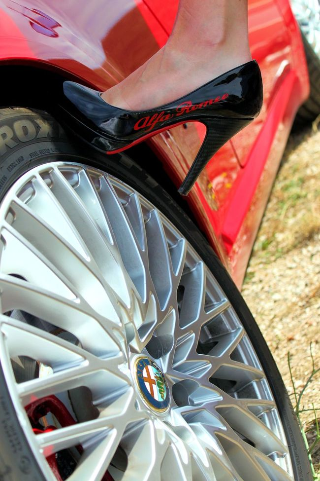 Auto Automobile Close-up Cropped Day Italy Italy❤️ Outdoors Parked Sexygirl Sexygirls Shoes Shoes ♥ Stationary Tire TTWorld TTWorldPhoto Vehicle Part Wheel