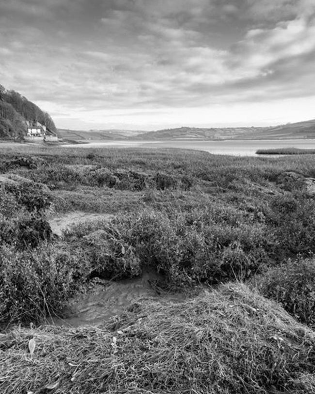 Not long now to my annual pilgrimage. Laugharne Wales Boathouse DylanThomas Estuary Blackandwhite Landscape Fineart Photooftheday Canon Sky