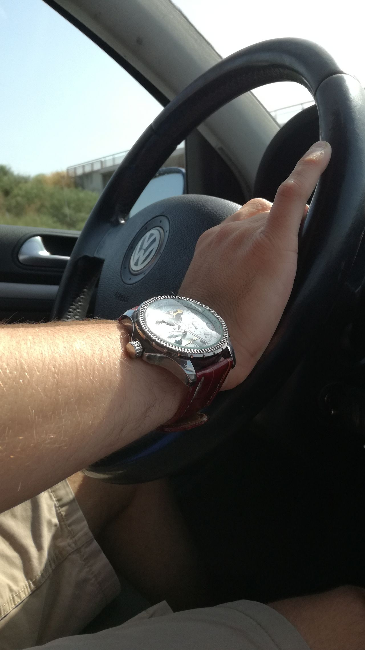VW Driving Home Driving Shots Watch Time Fastforwarding Classy