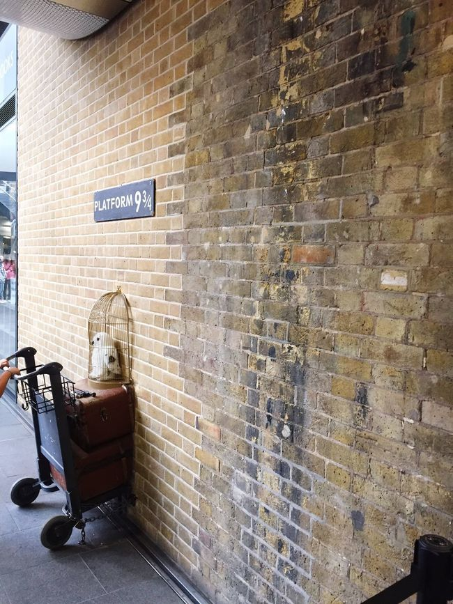 Harry Potter Kingscross9and3quarters King's Cross London