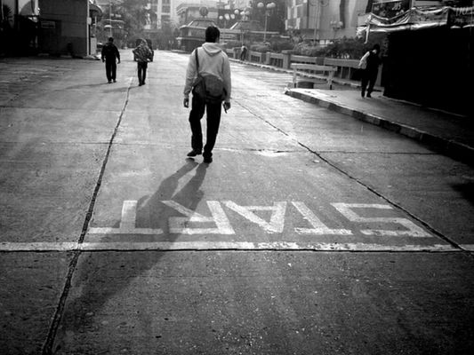 streetphoto_bw at Jakarta Capital Region by Tony Mahendra