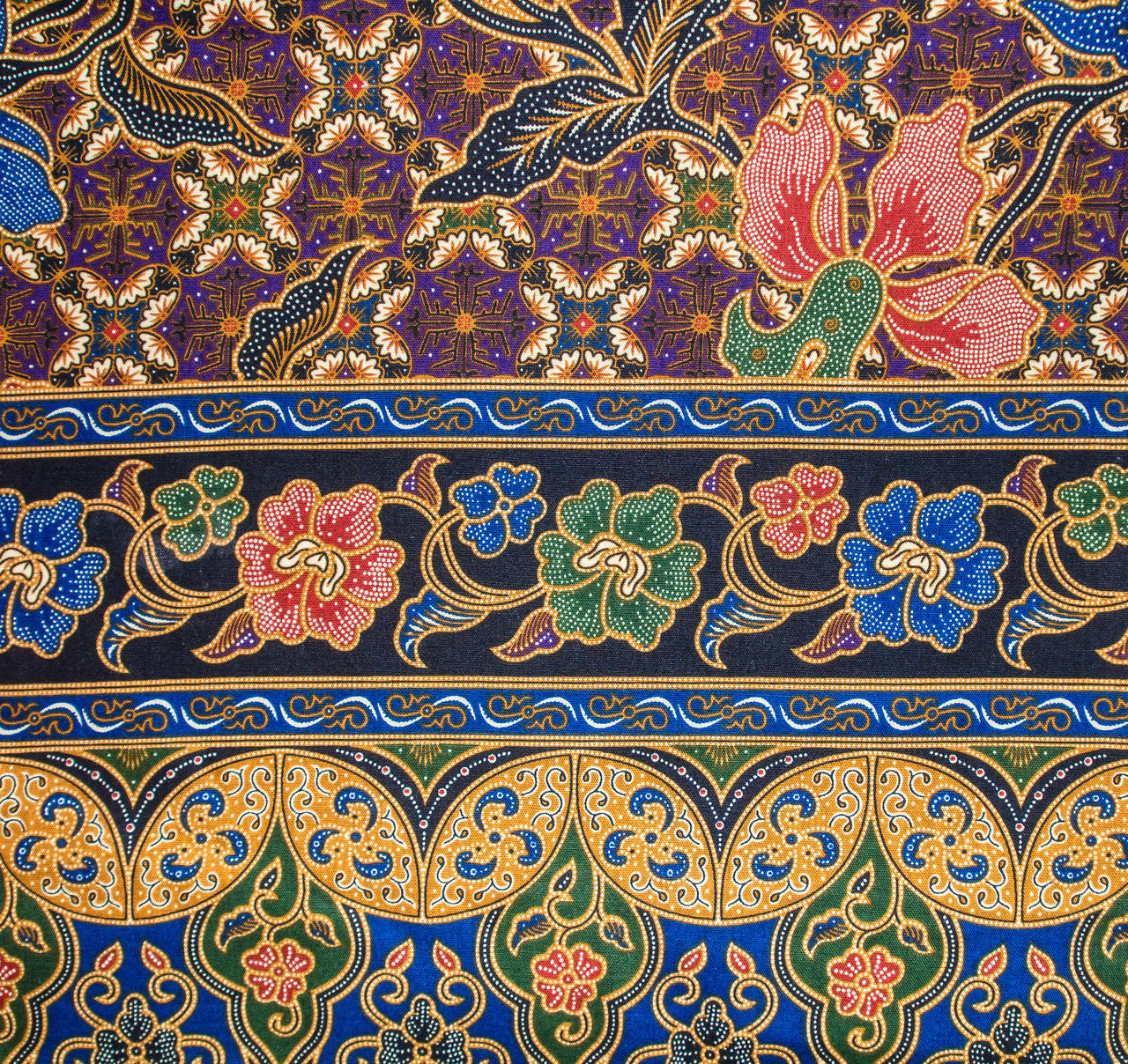 floral pattern, multi colored, pattern, backgrounds, ornate, full frame, tile, no people, close-up, day