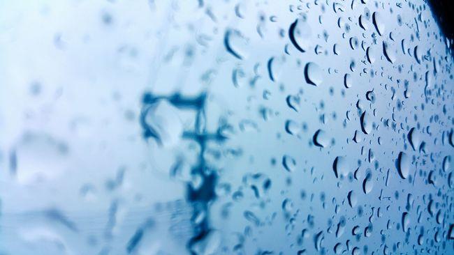 Rainy Days Rain Glass Gloomy Weather Water Drop Wet Sky Season  Window Weather