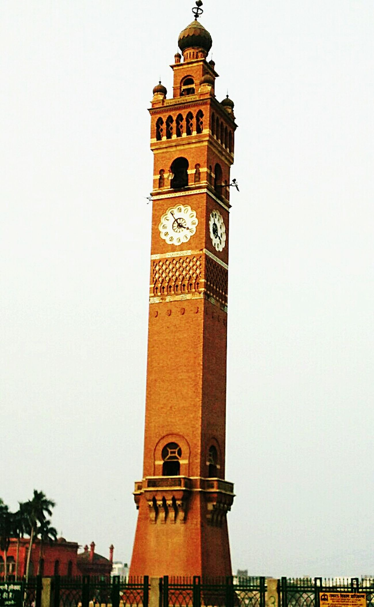 Clocktower GhantaGhar Architecture Ancient Lucknow Lucknowdiaries Old Lucknow Husainabad Clock Tower (lucknow, India)