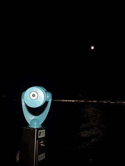 Tacoma Waterfront Plenilunio Night Lights Walking