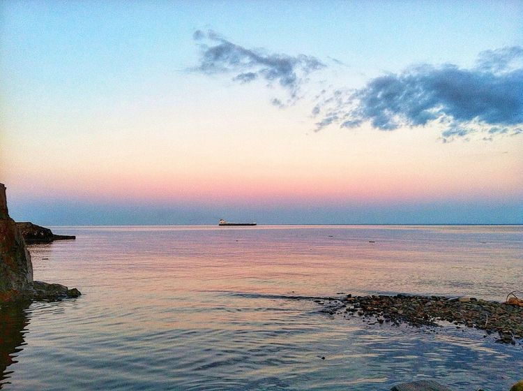Duluth Minnesota USA North Shore Minnesota Lake Superior Amazing Sunset Sunset EyeEm Best Shots Clouds And Sky Sunset Landscape Landscape The Traveler - 2015 EyeEm Awards