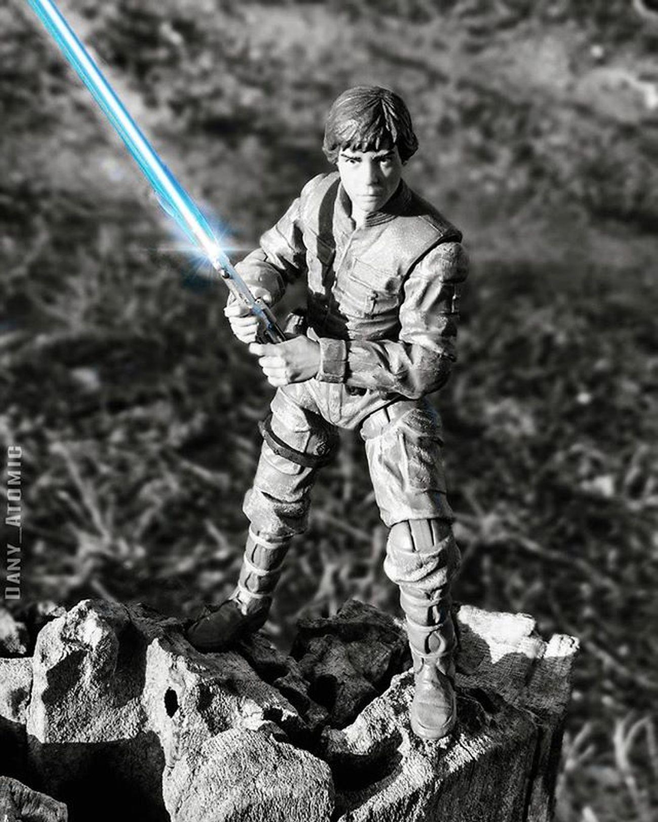 Colorsplash Lukeskywalker BespinLuke Lightsaber Jedi Starwars StarWarsTheVintageCollection Starwarsdaily TheSkywalkerlegacy Colorsplash Blackandwhite
