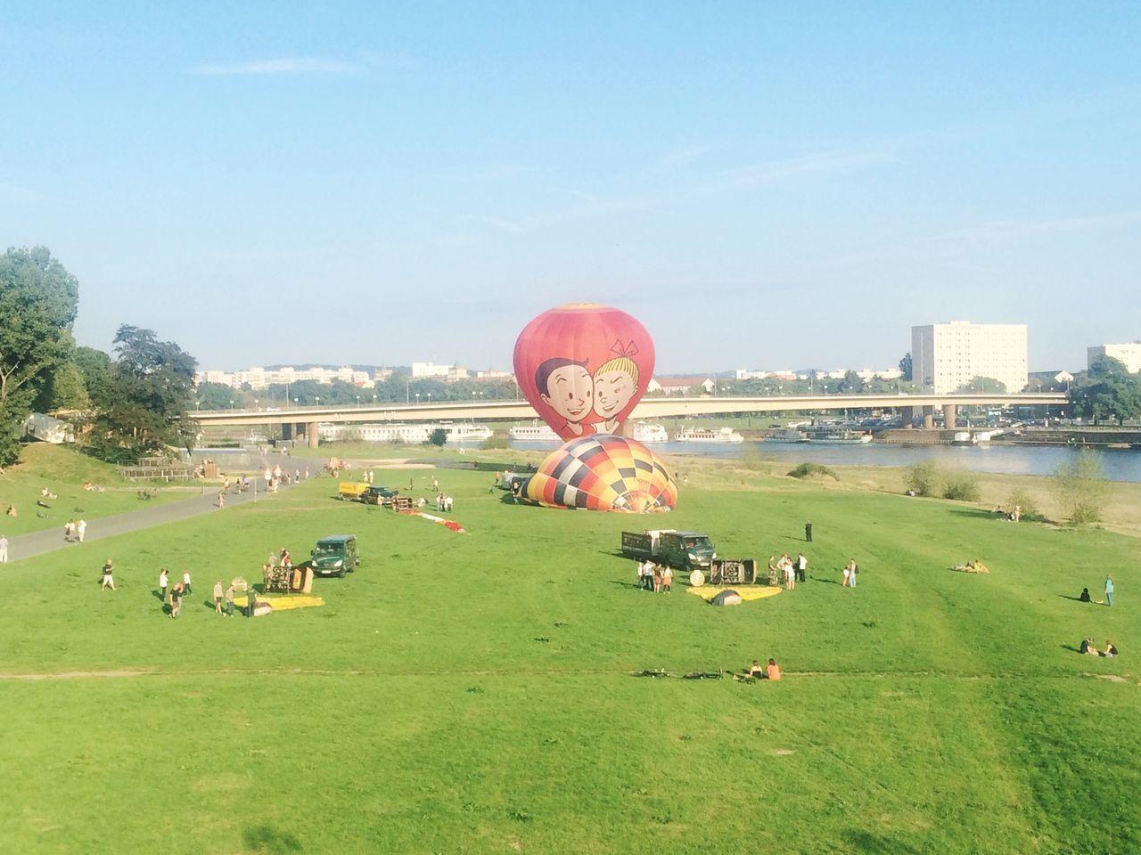 Hot-air Balloon Balloon Summer Summertime Hot Air Balloons