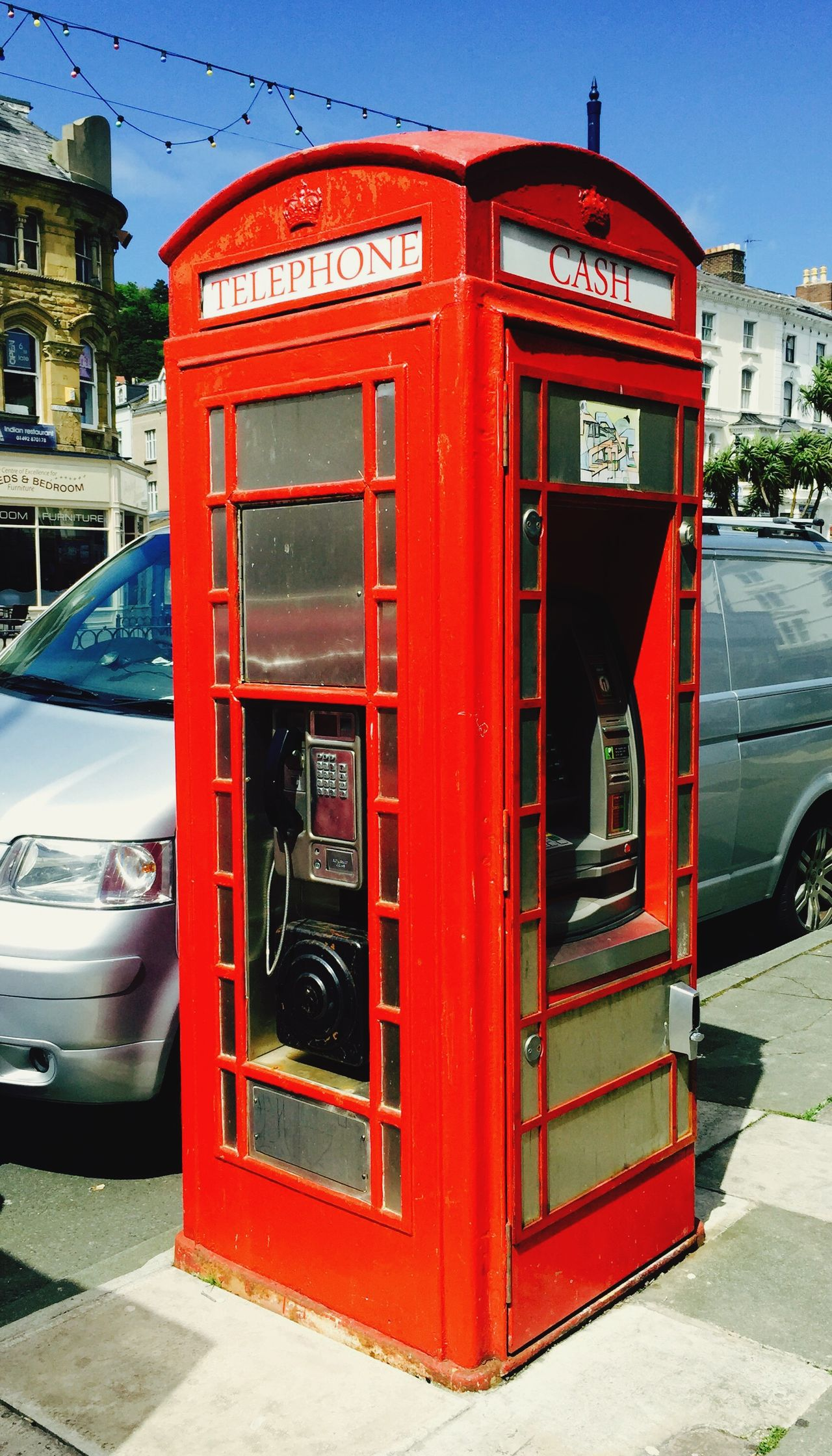 Vintage London Phone Booth London Phone Booth Vintage Travel Photography Londonlife Llandudno Streetphotography EyeEm Best Shots Red