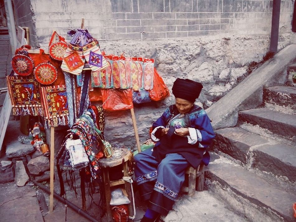 The Miao Elder Embroidery Phoenix Town Old But Awesome I respect for all of things which are adorable.