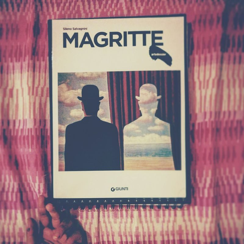 Magritte Magritte Sky Magritteinspired Art Love Passion Ispirations Paint Painting Painter Surrealism Night Woman Nightphotography Study Live Travelwithmymind Western Script Text Two People Communication Adult Day Adults Only Men