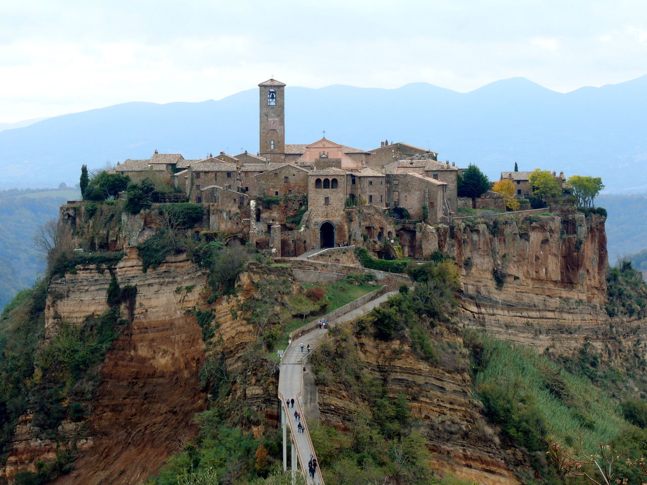 The Dying City Civita Di Bagnoregio Italy