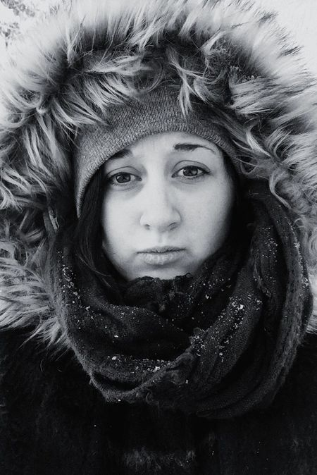 The Portraitist - 2016 EyeEm Awards Winter Cold Weather Bundled Up Snowday