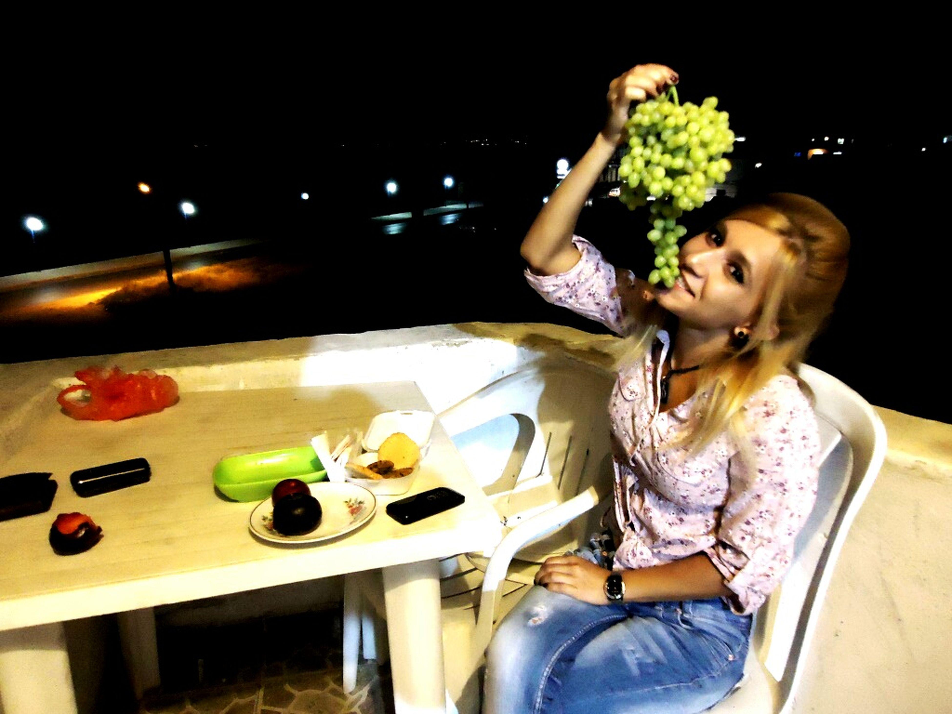 Everyday Joy Eating Grape