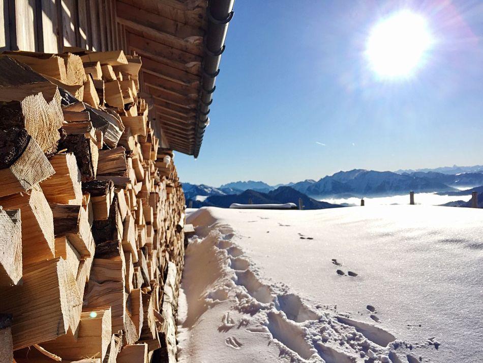 Wallberg Tegernsee Rottach-Egern Bayern Mountain View Mountains And Sky Snowrunning Mountainrun Trailrunning Holzvorderhüttn Nature Mountainlove Outdoors