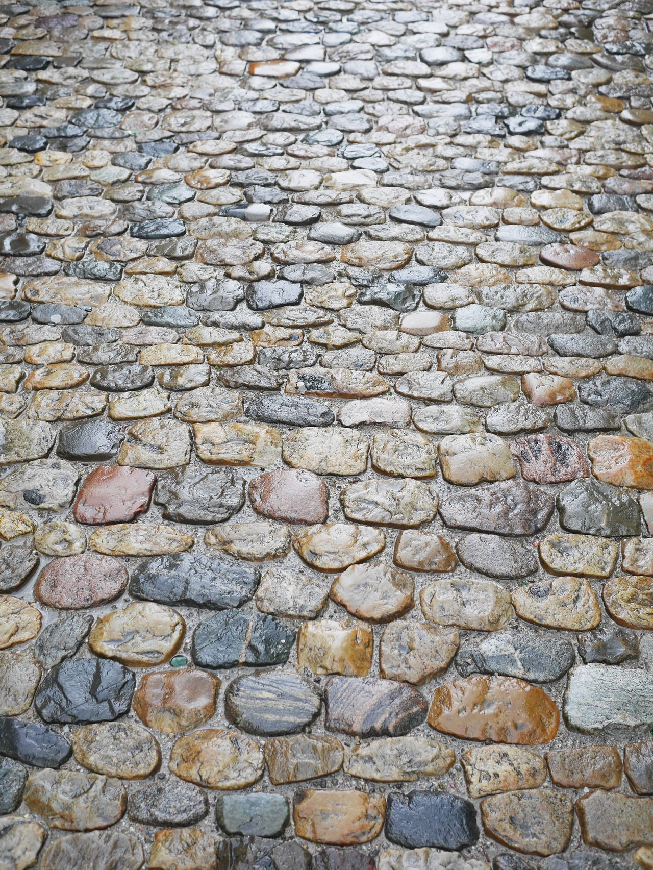 Backgrounds Cobblestone Day Full Frame Nature No People Outdoors
