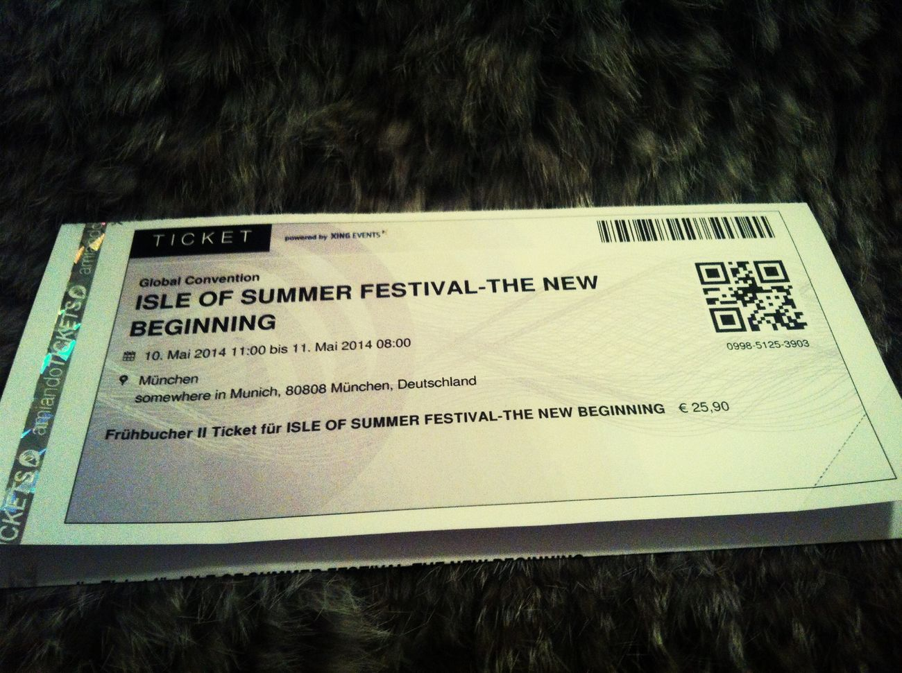 Isle Of Summer Festival Ticket