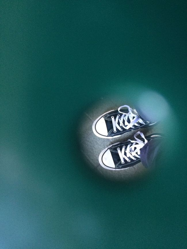 Focus Object Shoes Of The Day Shoes No People Through The Hole Focus Point Selective Focus Black Shoes Looking Down Looking Through Looking At Things Looking